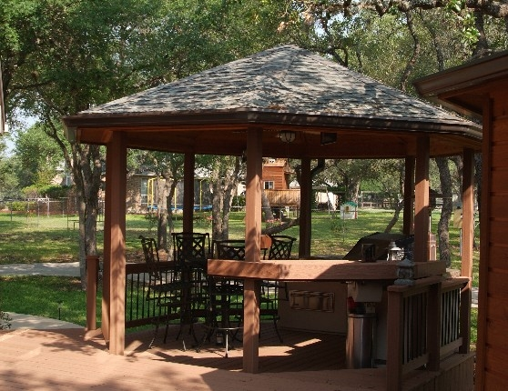 Another View of the Open Gazebo