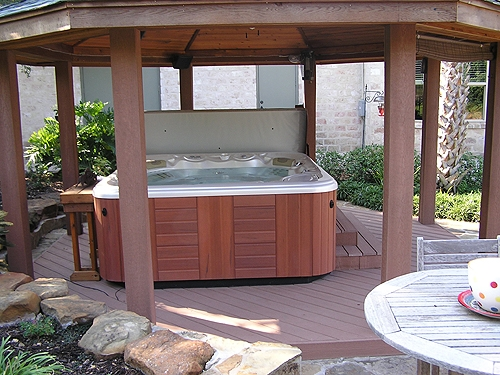 Composite Hot Tub Gazebo
